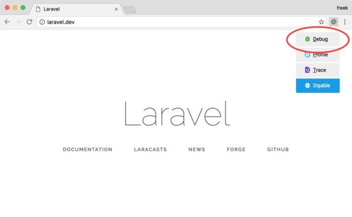 Setting up Xdebug with Laravel Valet - Freek Van der