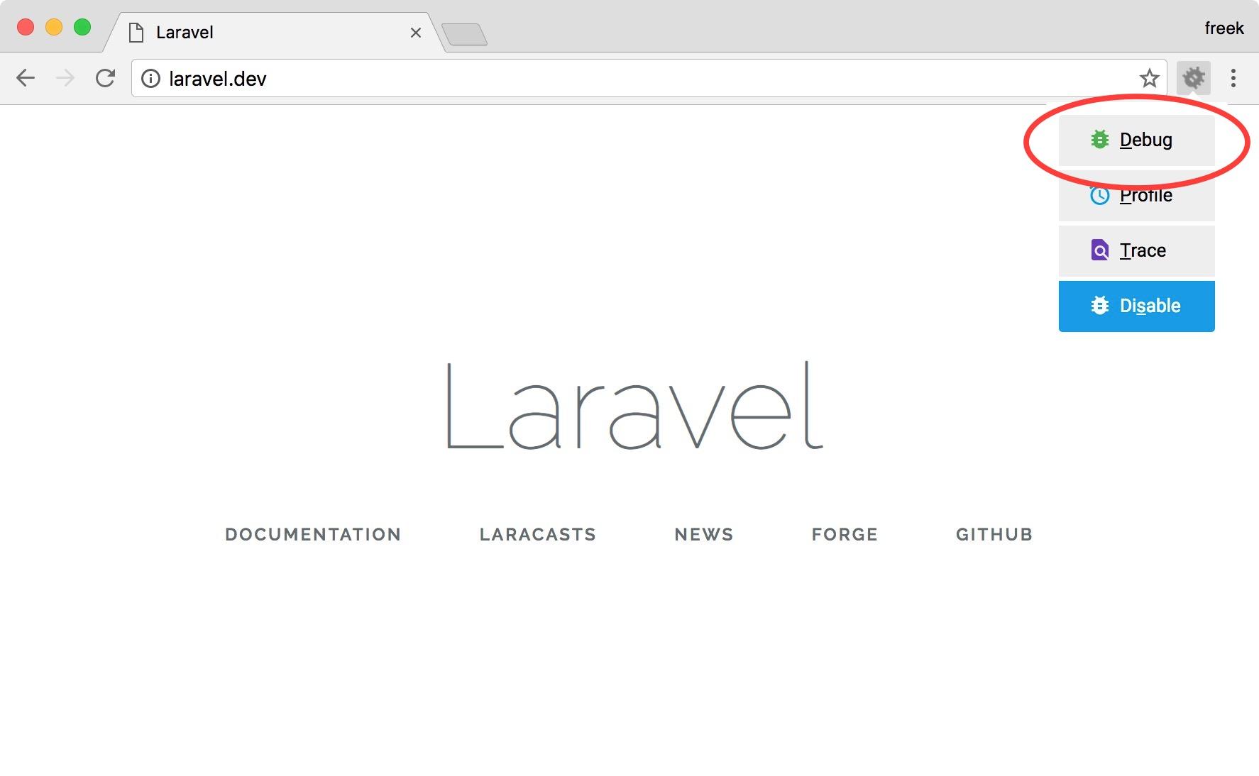 Setting up Xdebug with Laravel Valet - Freek Van der Herten's blog