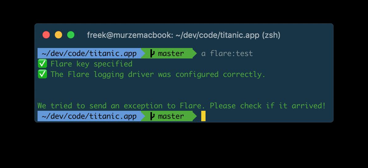 Flare: an error tracker built for Laravel apps - Freek Van
